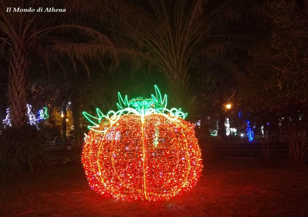 luci d'artista salerno giardino incantato