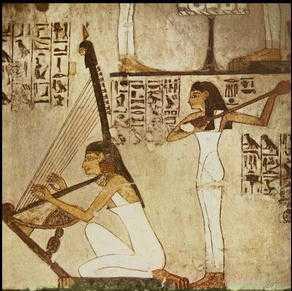 Risultati immagini per sacerdoti egizi musica