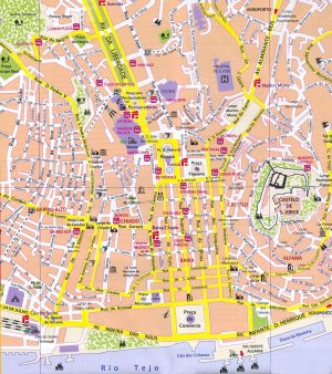 piantina centro storico