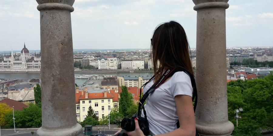 budapest collina buda vista su città