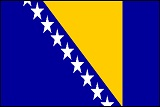 Bendera Bosnia and Herzegovina