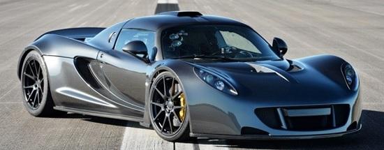 Hennessey Venom GT (Mobil tercepat di Dunia)