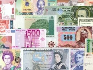 Daftar Nama Mata Uang di Dunia