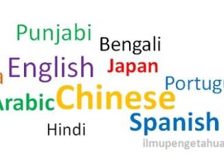 10 Bahasa yang Paling banyak digunakan di Dunia