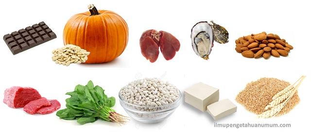 10 Makanan yang Mengandung Zat Besi Tertinggi