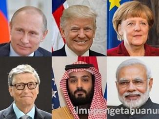 10 Orang yang paling Berpengaruh di Dunia 2018
