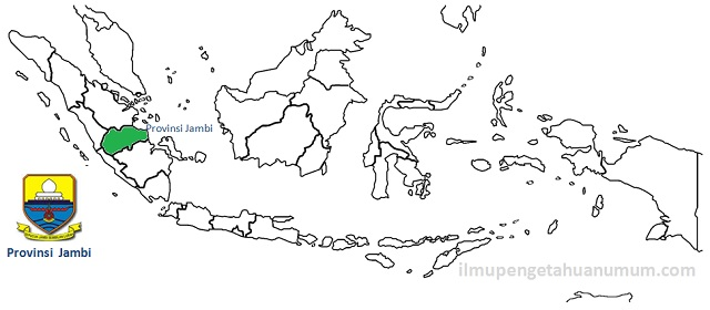 Daftar Kabupaten dan Kota di Provinsi Jambi