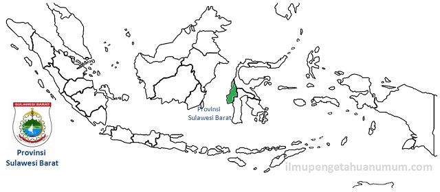 Daftar Kabupaten di Provinsi Sulawesi Barat