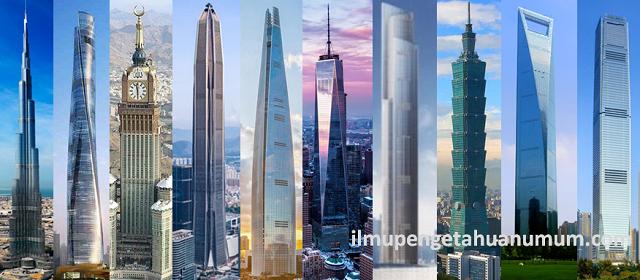 10 Gedung Tertinggi di Dunia 2018