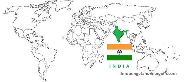 Profil Negara India dan pembagian wilayahnya
