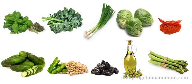 10 Makanan yang mengandung Vitamin K tertinggi