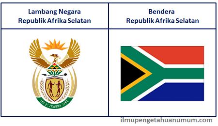 Lambang Negara dan Bendera Negara Afrika Selatan (South Africa)