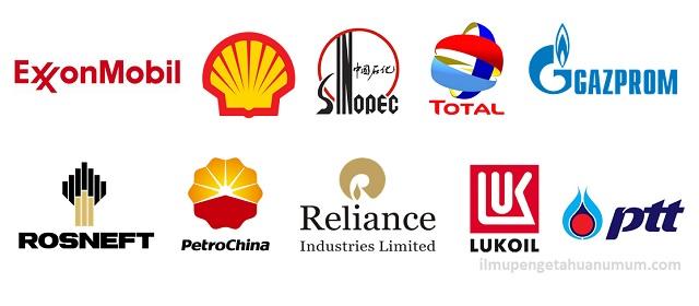 10 Perusahaan Minyak dan Gas alam Terbesar di Dunia (Perusahaan Publik)