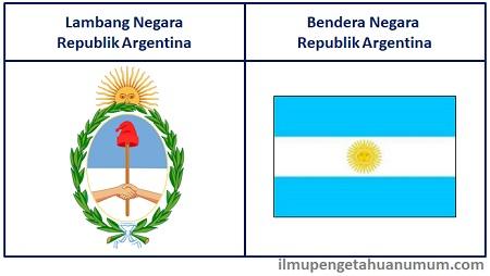 Lambang Negara dan Bendera Argentina