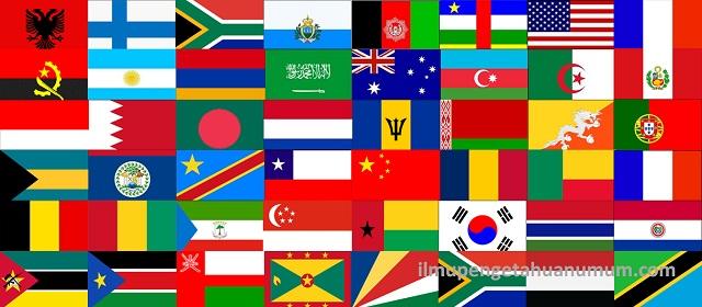 Bendera Negara Di Dunia Ilmu Pengetahuan Umum