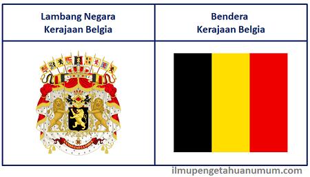 Lambang Negara Belgia dan Bendera Belgia