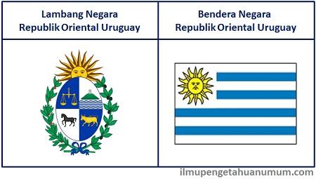 lambang dan Bendera Uruguay