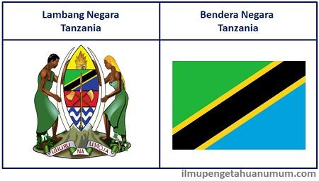 Lambang Tanzania dan Bendera Tanzania