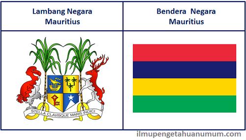Lambang Mauritius dan Bendera Mauritius