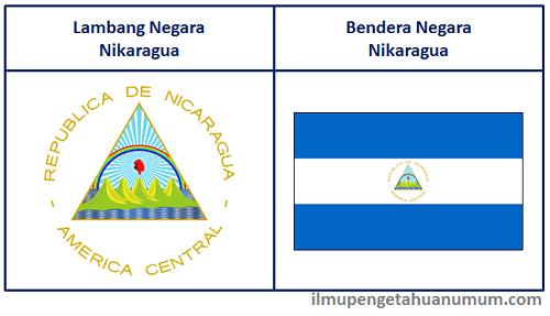 Lambang Nikaragua dan Bendera Nikaragua
