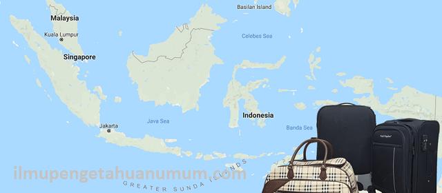 10 Negara dengan Wisatawan yang paling banyak berkunjung ke Indonesia