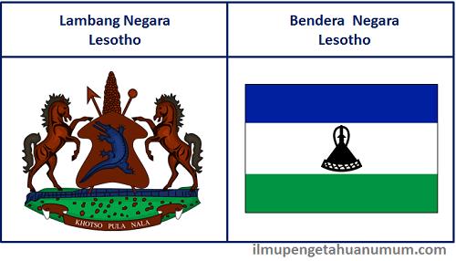 Lambang Negara Lesotho dan Bendera Lesotho