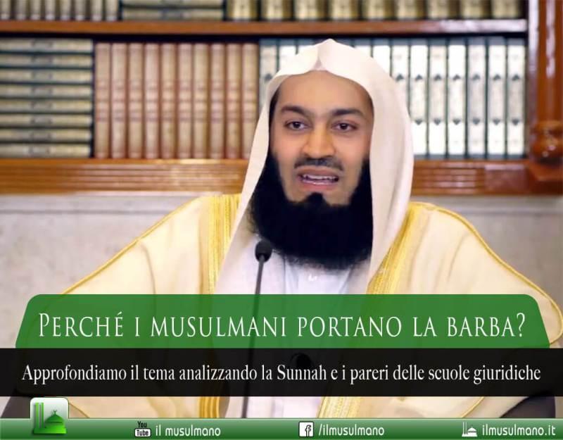 perché i musulmani portano la barba, perché i musulmani hanno la barba, la barba nell'Islam, la barba nella Sunnah
