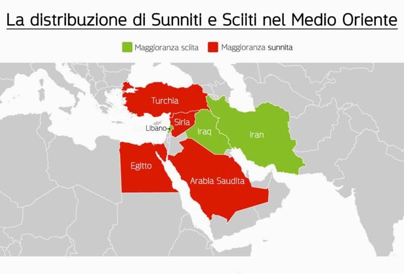 Mappa concettuale sunniti e sciiti, sciiti e sunniti mappa concettuale, sciiti e sunniti mappa, Mappa divisione Sunniti e Sciiti, Quali sono le differenze tra sunniti e sciiti, differenze tra musulmani sunniti e sciiti, sunnismo e sciismo