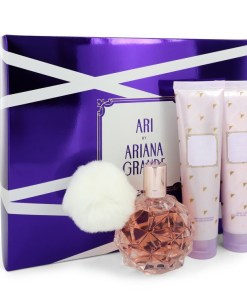 Ari by Ariana Grande - Gjafasett - 3.4 oz Eau De Parfum Spray + 3.4 oz Body Lotion + 3.4 oz  Shower Gel f. dömur