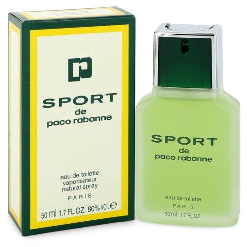 PACO RABANNE SPORT by Paco Rabanne - Eau De Toilette Spray 50 ml f. herra