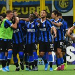 Romelu Lukaku festeggia il primo gol