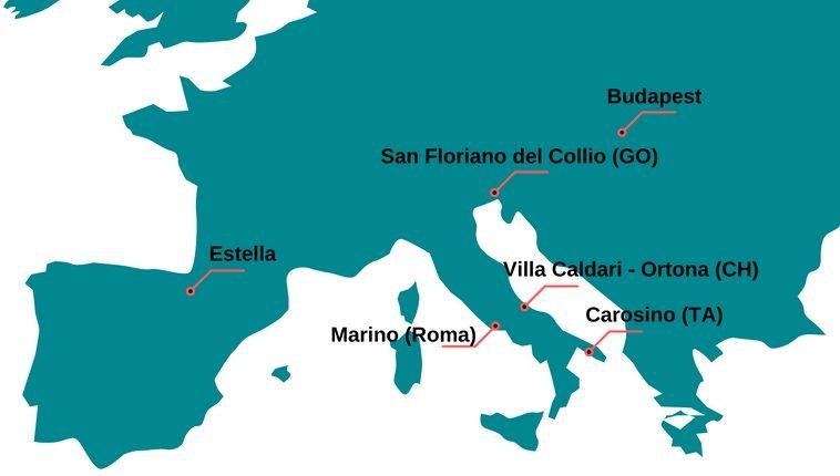 itinerario fontane vino