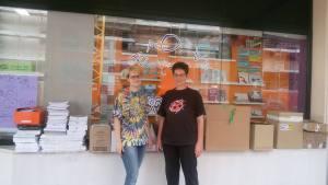 donazione libreria Baobab di Porcia (PN)