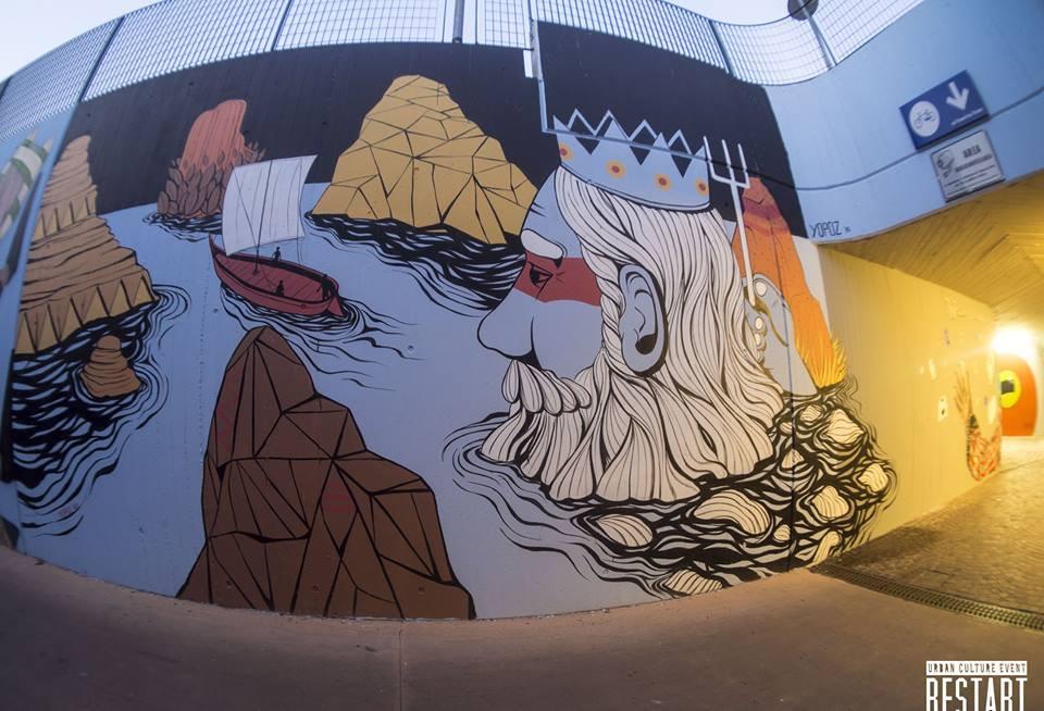 Stazione di Imola (Re-start festival di cultura urbana, settembre 2015)