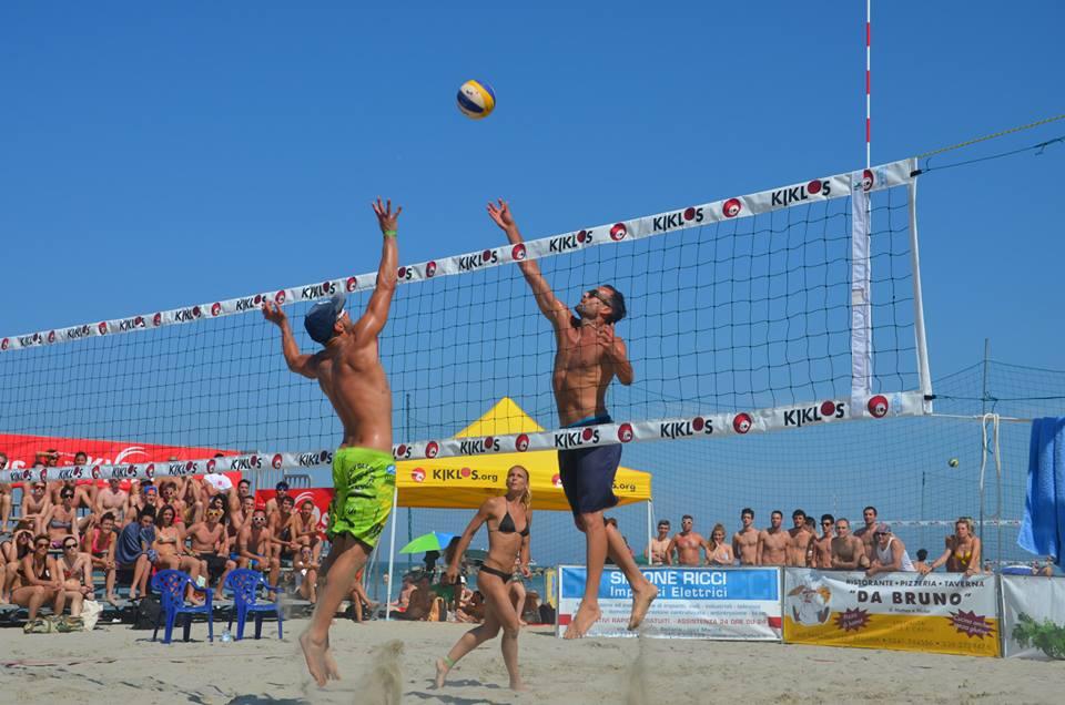 Kiklos Sand Volley 3x3mf-4x4 mix-2x2 mix