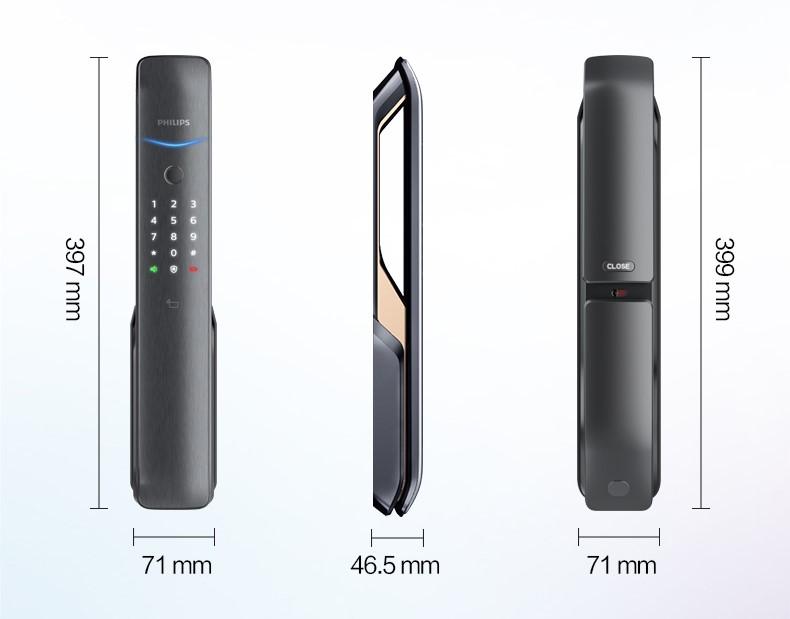 台中電子鎖安裝推薦 飛利浦9200 philips 9200 產品規格