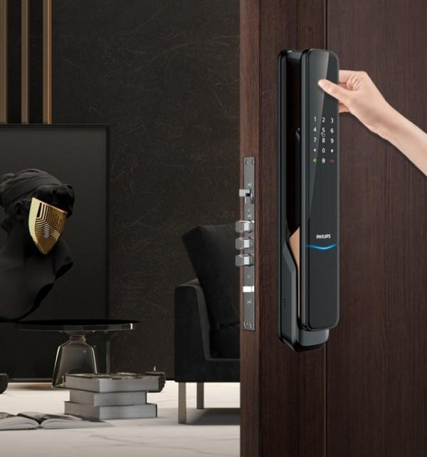 飛利浦電子鎖 9300 philips 9300 台中電子鎖安裝5