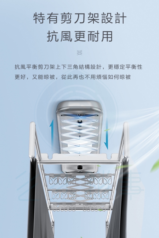 飛利浦電動晾衣架 SDR701 台中新竹電動曬衣架-11