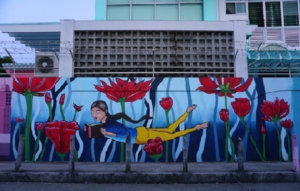 Central Philippine University Mural (1)