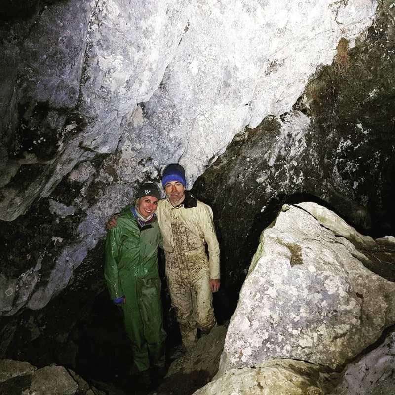 biegi górskie  Filip Babicz Ilona Łęcka jaskinia