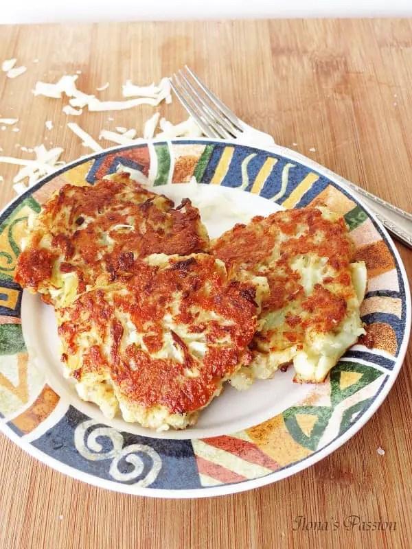 Parmesan Cauliflower Fritters1