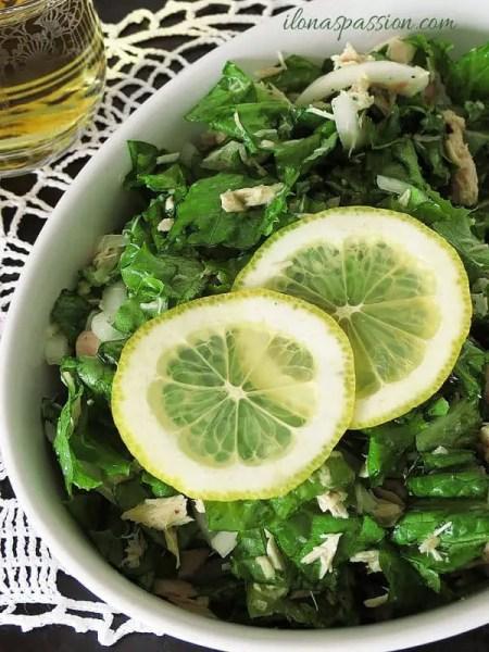 Healthy Tuna Salad by ilonaspassion.com