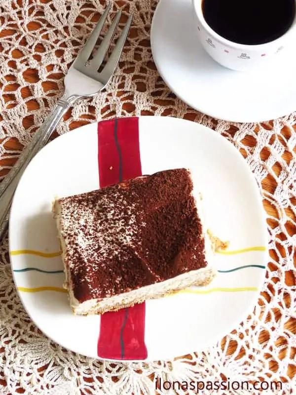 Tiramisu Cheesecake I ilonaspassion.com
