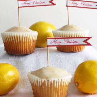 Lemon Cupcakes by ilonaspassion.com
