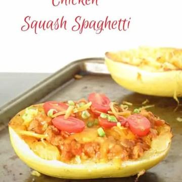 The Best Chicken Squash Spaghetti by ilonaspassion.com