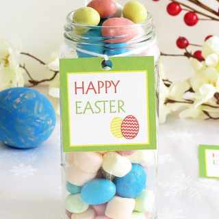 Free Printable Easter Tags + Gift Idea