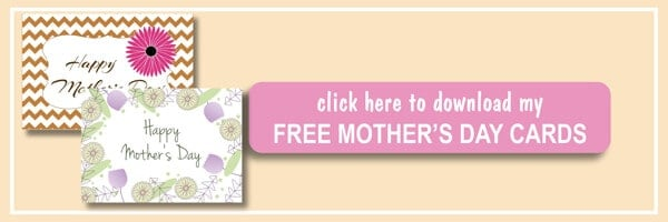 "Are you looking for some gift ideas for Mom? Check it on ilonaspassion.com FREE Printable ""Happy Mother's Day"" Card and lots of gift ideas for mom I @ilonaspassion"