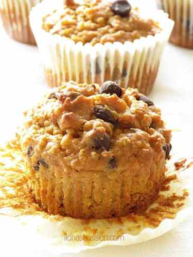 Sweet Potato Quinoa Muffins by ilonaspassion.com