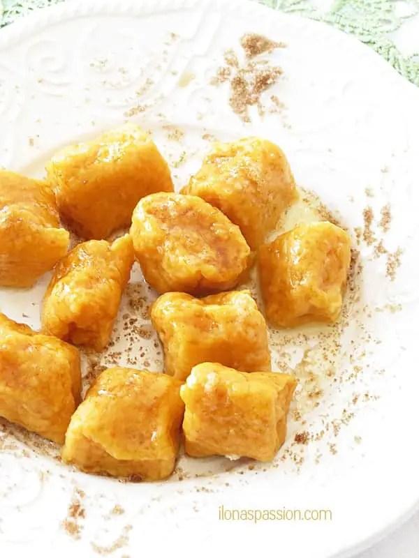 Sweet Potato Gnocchi by ilonaspassion.com