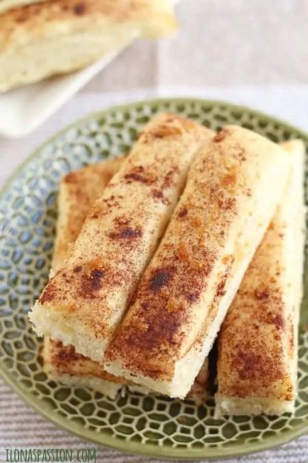 Fluffy and Buttery Brown Sugar Cinnamon Breadsticks by ilonaspassion.com